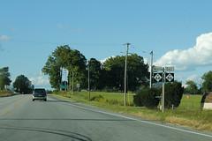 M-66 and M-86 Duplex (formulanone) Tags: michigan road sign m66 66 m86 86