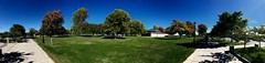 Park at end of Genesee River (ronon44) Tags: geneseeriver rochester panorama