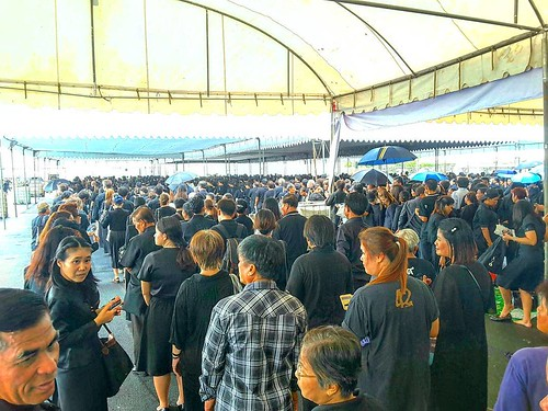 Paying our respects to #KingBhumibol