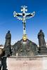 Prague (Strangelove 1981) Tags: 2016 prague holiday travel charlesbridge statues religious jesus jesuschrist sonofgod crucified