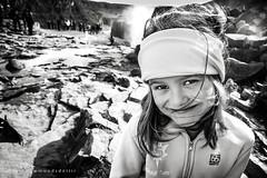 Snorri at Gullfoss (Golden Waterfalls) (Sigrun Saemundsdottir) Tags: portrait child children kid kids young face happy iceland environmentalportrait nature outdoors sigrunsaemundsdottirphotography foreground background waterfall depthoffield longhair headband