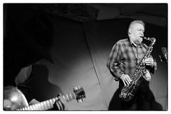 Otomo Yoshihide/Hiroshi Yamazaki/Evan Parker @ Cafe Oto, London, 14th November 2016 (fabiolug) Tags: otomoyoshihide hiroshiyamazaki evanparker guitar electricguitar sax saxophone drums trio improvisation improv cafeoto london dalston music gig performance concert live livemusic leicammonochrom mmonochrom monochrom leicamonochrom leica leicam rangefinder blackandwhite blackwhite bw monochrome biancoenero voigtlandernoktonclassic35mmf14 voigtlandernokton35mmf14 voigtlander35mmf14 35mm voigtlander