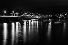 Teignmouth and Shaldon Bridge (Marklucylockett) Tags: marklucylockett november devon shaldon teignmouthandshaldonbridge teignmouth night bridge riverteign teign estuary 2016