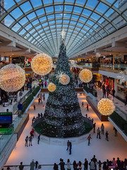 The Galleria - Houston, Texas 2016 (apollonian) Tags: houston texas galleria shopping mall christmas tree ice skating 2016