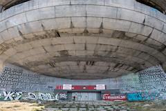 Buzludzha Monument (R Schofield) Tags: architecture buzludzha monument bulgaria shipka pass soviet communist communism abandoned derelict brutalist brutalism modernist exsoviet state sovietarchitecture
