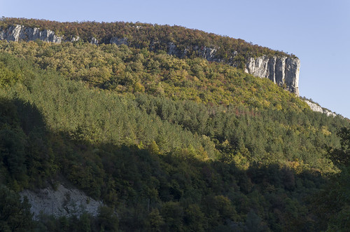 Forest and cliffs, 11.10.2014.