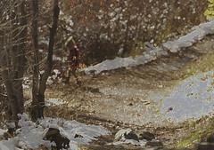 Spirit of Discovery (Karen McQuilkin) Tags: exploringthewoods candid hike snow creek uath spiritofdiscovery