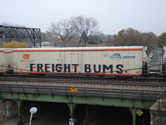 Freight Bums (Select1200) Tags: benching freights trains graffiti railroad fr8 chicago cryotrans reefer