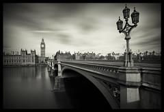 Westminister Bridge (PhotoElec) Tags: bridge monochrome westminsterbridge blackwhite london longexposure 16stops ndfilters