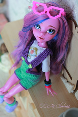 IMG_1854 (Cleo6666) Tags: monsterhigh monster high kjersti trollson mattel ooak repaint doll custom