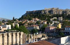 Acropolis and Plaka (gmathio1) Tags: athens   acropolis plaka plakadistrict  ancientathens ancientgreece greece