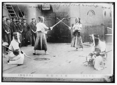 #Japanese sailors fencing on board warchip, ca. 1910 - 1915. [1024 x 748] #history #retro #vintage #dh #HistoryPorn http://ift.tt/2gAZ8PM (Histolines) Tags: histolines history timeline retro vinatage japanese sailors fencing board warchip ca 1910 1915 1024 x 748 vintage dh historyporn httpifttt2gaz8pm