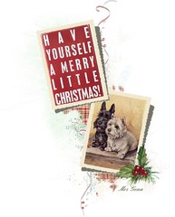 Ler Your Heart Be Light (scmrsgena) Tags: polyvore mrsgena christmas merrychristmas dog scotty westie scottie weescottie card greeting greetingcard blackandwhite
