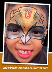 Bumble Bee (Transformer Face Painting) (professionalfacepainter) Tags: birthday boy party boys kids artist parties bumblebee professional company entertainment socal transformers artists orangecounty oc irvine professionals hire tustin licensed temporarytattoo facepainter insured