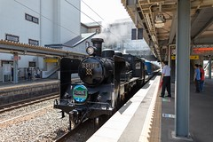 2015_07_26 SL北琵琶湖号-50 (Y.K.swimmer) Tags: japan train sl 琵琶湖 蒸気機関車 滋賀県 c56 sl北琵琶湖号