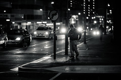Backlit (gomezthecosmonaut) Tags: street bw night wellington a99 135mmf18za sonnart18135