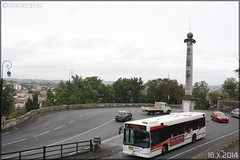 Volvo 7700 - STGA (Société de Transport du Grand Angoulême) n°677 (Semvatac) Tags: bus volvo photo métro 7 angoulême transportencommun tramway charente 7700 avenueduprésidentwilson stga semvatac sociétédetransportdugrandangoulême bb837cq