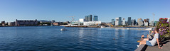 Panorama: Oslo waterfront (miphages) Tags: blue panorama building water oslo norway skyline architecture canon waterfront outdoor no 40mm 6d eos6d oslooperahouse ef40 ef40mmf28stm miphages