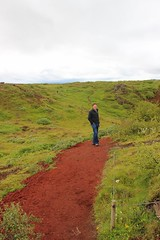 Iceland 8.22.15 4490 (mkalbis) Tags: kerith volcaniclake redsoil iceland2015