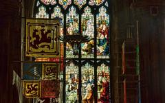 St Giles (Travels with Kathleen) Tags: church window scotland edinburgh banner scottish stainedglass presbyterian