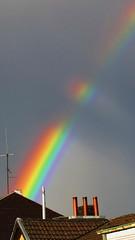 Regenbogen (Anamario Queijeiro) Tags: naturaleza arcoiris deutschland lluvia natur himmel colores regen regenbogen farben phnomen alsdorf