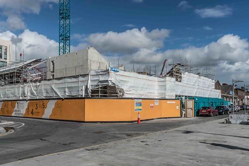 DUBLIN DOCKLANDS AREA [21 SEPTEMBER 2015] REF-10805456