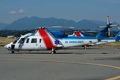 C-GCHJ (Helijet - BC Ambulance) (Steelhead 2010) Tags: helicopter yvr helijet sikorsky s76 creg bcambulance cgchj