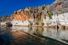 Geikie Cliffs (Rodney Campbell) Tags: water river rocks au australia wa gorge westernaustralia cpl geikiegorge geikie kingleopoldranges