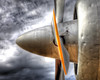 C-118 Propeller (finelld) Tags: sanantonio airplane texas aircraft military transport engine blade propeller hdr spinner radial lackland liftmaster c118