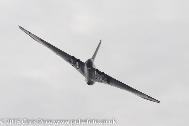 Vulcan over Farnborough