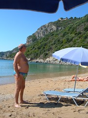 St George's (North) Corfu (pj's memories) Tags: beach slip speedos tanthru kiniki
