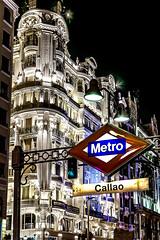 Callao (Francisco Esteve Herrero) Tags: madrid metro nocturna callao 2015 franciscoesteveherrero nikond5300