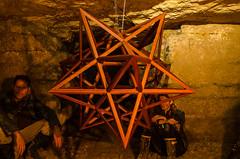 Nuit Noire 2015 (J.R. - Nuit Noire) Tags: light paris art underground lost catacombs quarry catacombes carrire urbex 2015 blacknight vnement nuitnoire