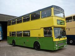 "Bammot Wythall ""fleetline 55"" Running Day 11/10/15 (gardnergav) Tags: buses daimler fleetline wythall 111015 runningday preservedbus bammot birminghamandmidlandmotoromnibustrust fleetline55"