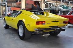 "DeTomaso Pantera GTL ""Series I"" (1973) (Transaxle (alias Toprope)) Tags: auto italy berlin classic cars ford beautiful beauty car sport yellow tom vintage design amazing italian nikon italia power antique cleveland engine voiture historic retro exotic giallo coche soul carros classics carro vehicle oldtimer motor bella autos veteran powerful iconic macchina 1973 v8 coches styling clasico ghia voitures toprope exotics pantera detomaso italiane meilenwerk 351 macchine vignale motore dreamcar d90 seriesi midship gtl midengine tjaarda rmr midshiprunabout tomtjaarda italauto 58liter rmrlayout italianblood midshipengine centralengine classicremise"