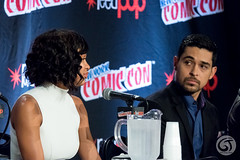 Meagan Good and Wilmer Valderrama