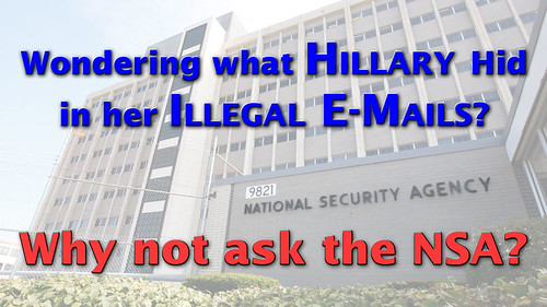 Hillary? Maybe the NSA Knows...