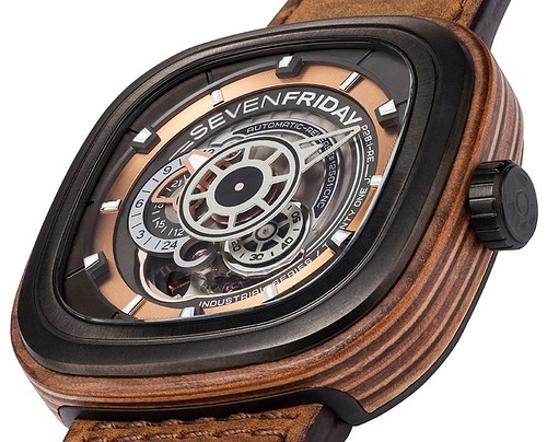 SevenFriday P2B/03 Woody Limited Edition