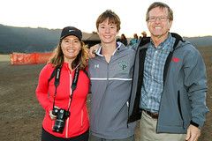 Henry and his parents (Malcolm Slaney) Tags: championship crosscountry xc crystalsprings 2015 scval