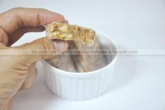 Palha italiana de doce de leite na mo (Letrcia) Tags: sweet dulcedeleche docedeleite palhaitaliana