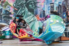 Amusement park (grafotola) Tags: tivoli carousel funfair