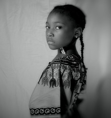 Poise (Snappr007 (Winston Tinubu)) Tags: portrait white black girl beauty smile female kid model different bell african unique award excellent and africanamerican poise visage excellence flickrsbest flickraward