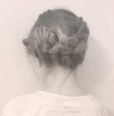 (Rebecca Watson Photography) Tags: portrait texture girl hair soft daughter hairstyle braid braided texturesquared