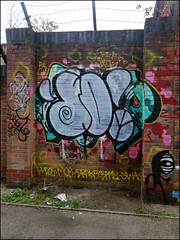 Dowt (Alex Ellison) Tags: urban graffiti boobs graff eastlondon throwup throwie dfn dowt dowta
