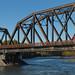 Ponte do trem em Talkeetna