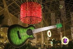 Opryland Hotel Christmas 2015: Guitar C (SeeMidTN.com (aka Brent)) Tags: christmas decorations tn nashville guitar tennessee conservatory christmaslights countrymusic opryland oprylandhotel 2015 musiccity gaylordopryland gardenconservatory bmok bmok2