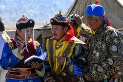 At a Naadam Festival