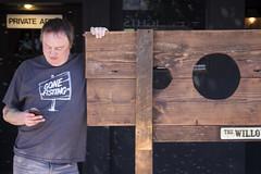 Gone fisting (quinn.anya) Tags: man stocks tshirt smartphone gonefisting fisting folsomstreetfair sanfrancisco