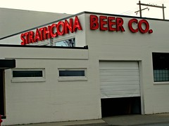 Strathcona Beer Co. (knightbefore_99) Tags: vancouver eastvan hastings strathcona brewing craft beer tasting room west coast bc canada pacific neon dtes red