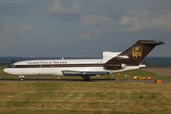 OY-UPJ-1-EGNX-23SEP2002 (Alpha Mike Aviation Photography) Tags: united parcel service ups boeing 727 oyupj eastmidlands ema egnx